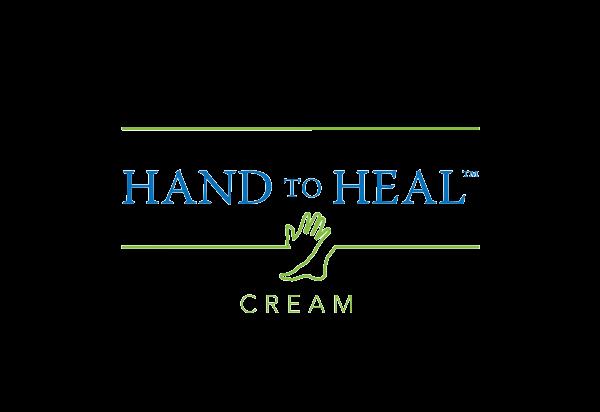 Medical logo design - Hand to Heal Cream