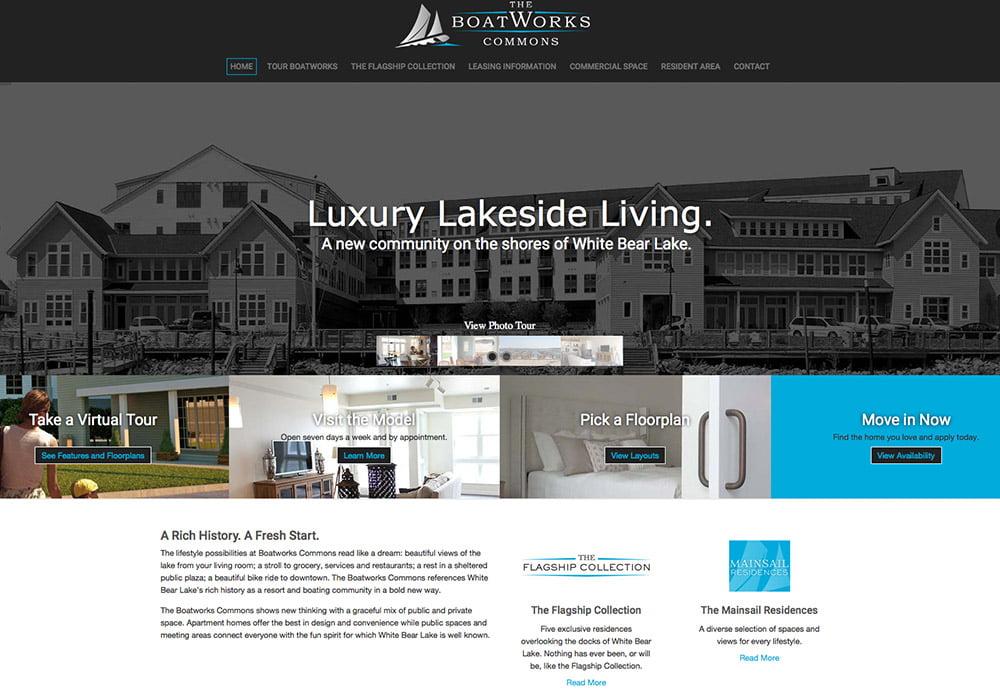Real estate web development
