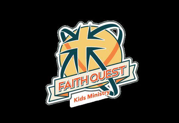 Church logo design - Faith Quest Kids Ministry