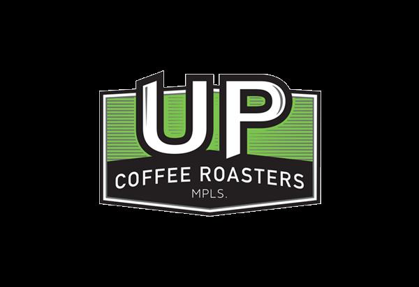 Coffee Brand Logo design - Up Coffee Roasters