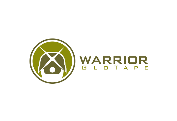 Business to Business logo design - Warrior Glotape