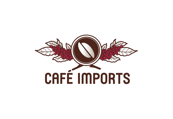 Coffee importer logo design - Cafe Imports