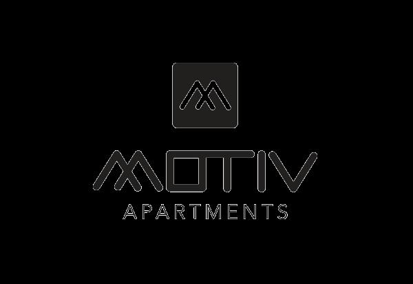 Real estate logo design - Motiv Apartments