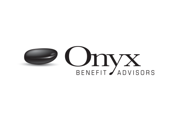 Financial company logo design - Onyx Benefit Advisors